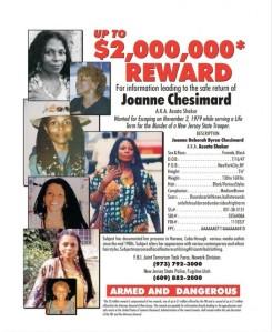 En 1977, Chesimard fue condenada a cadena perpetua pero en 1979 se fugó de la prisión y reapareció en 1984 en Cuba, donde recibió asilo