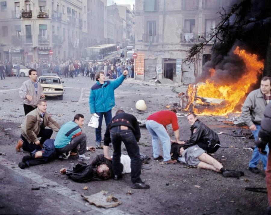 Atentado terrorista de ETA en Vallecas (Madrid) en 1995